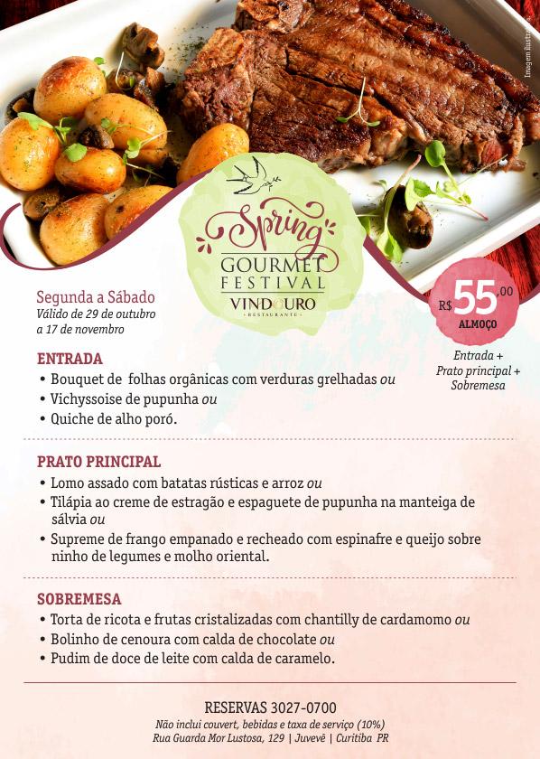 Spring Gourmet Festival - Restaurante Vindouro